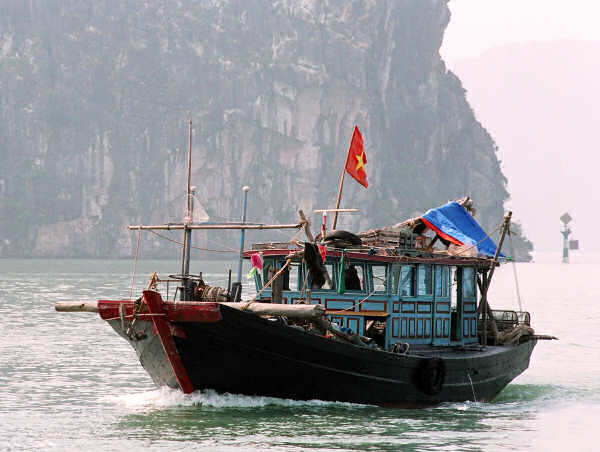 Halong Bay Square Head Dragger