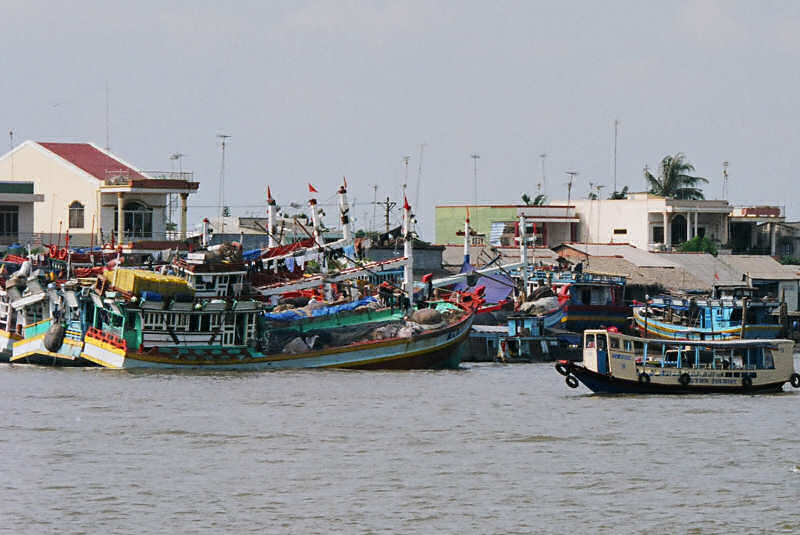 Mekong Delta Waterfront