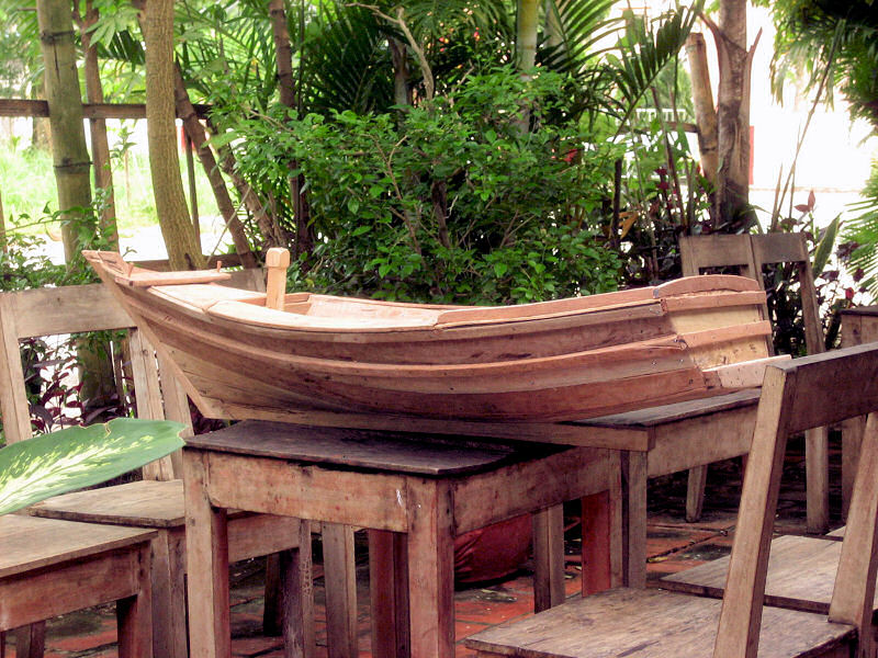 Model  Boat on Phu Quoc Island.